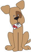 Dog with RX Card