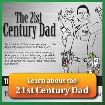 Trusted Quote Father's Day infographic: The 21st Century Dad